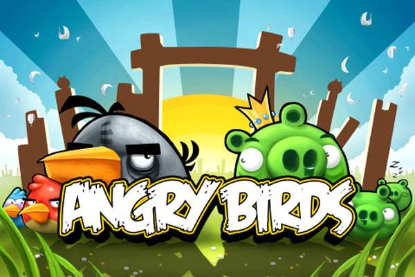 Angry Birds, sencillo y adictivo juego para móviles con pantalla táctil