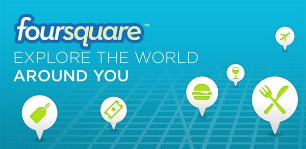 Foursquare, explorando ciudades con la geolocalización