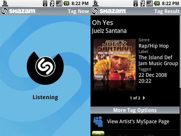 Shazam, averigua qué canción suena con este cazador de música