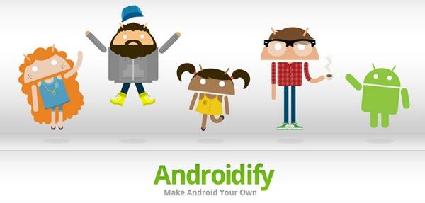 Androidify, crea tu propio robot-muñeco Android