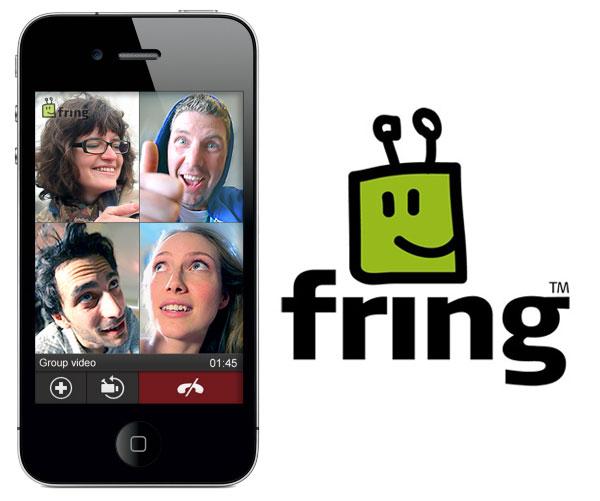 Fring, la aplicación permite videollamadas en grupo para iPhone y móviles Android