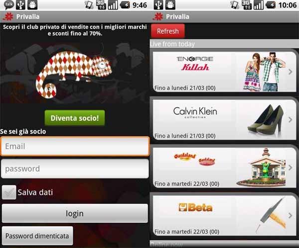 Privalia Mobile, la tienda de Internet cuenta con aplicación para iPhone y Android