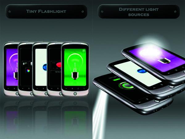 Tiny Flashlight + LED, convierte tu móvil Android en una linterna