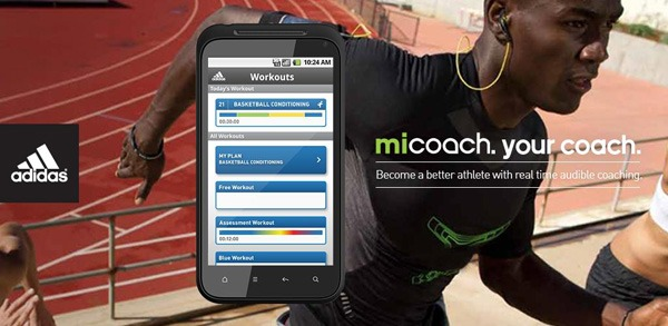 Adidas miCoach, un entrenador personal para tu móvil Android, iPhone o BlackBerry