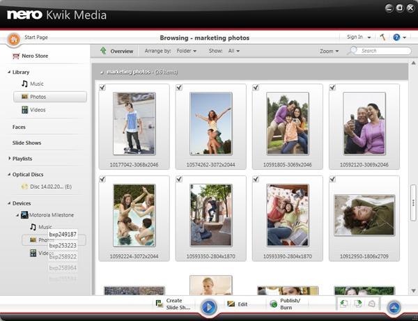 Nero Kwik Media, aplicación para pasar música, fotos o vídeos del ordenador a un móvil Android