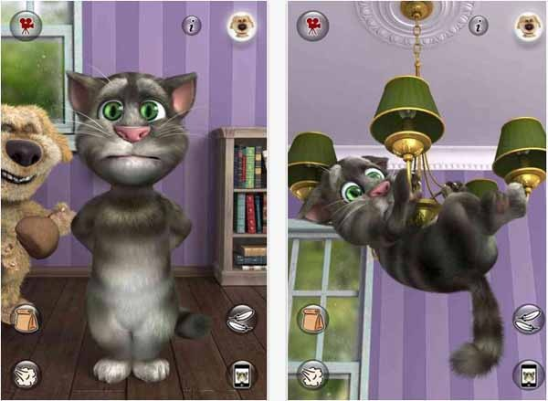 talking tom cat 2 iphone