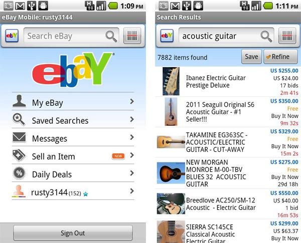 ebay sigue tus apuestas y objetos m s deseados est s donde est s con esta aplicaci n. Black Bedroom Furniture Sets. Home Design Ideas
