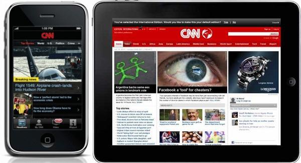 CNN App, el canal de noticias con vídeos e imágenes en tu móvil Nokia, Android y iPhone