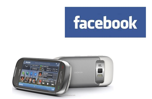nokia c7 facebook chat