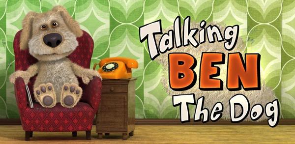 Talking Ben the Dog, juega con este perro contestón ahora también en tu móvil Android