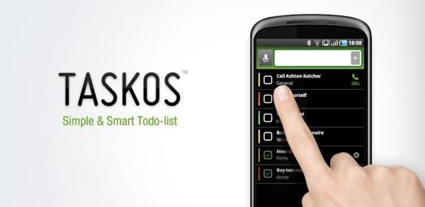 Taskos, organiza todas tus tareas de forma fácil y rápida con esta aplicación para móviles Android