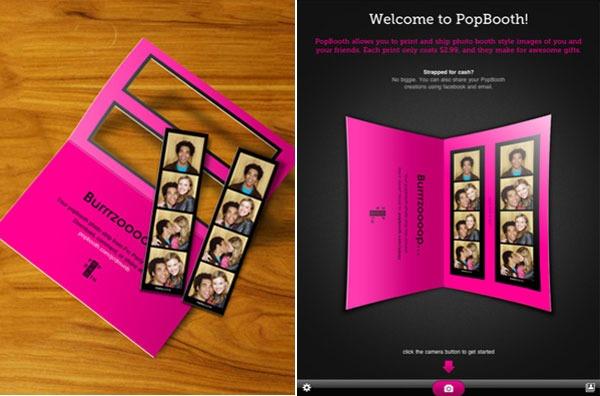 PopBooth, aplicación gratuita que convierte tu iPhone en un fotomatón