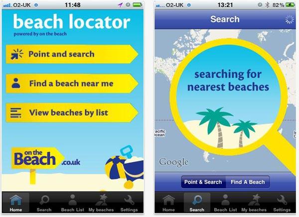 Beach Locator, encuentra la playa más cercana desde el iPhone