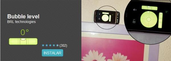Bubble level, conoce la inclinación de cualquier objeto con este nivel digital para móviles Android