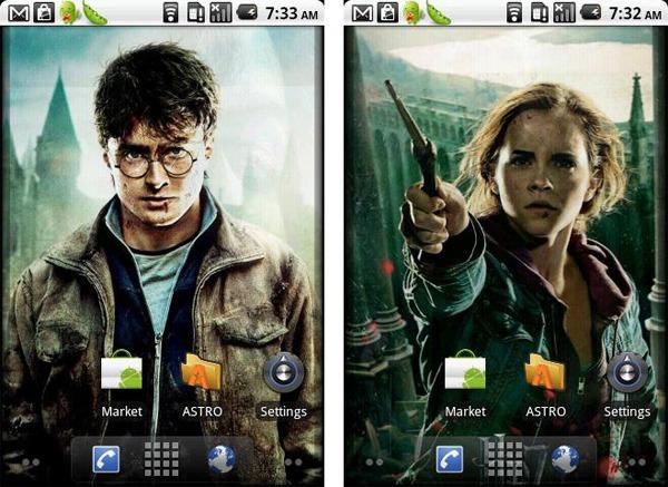 Harry potter livewallpaper personaliza tu m vil android for Fondos de pantalla de harry potter
