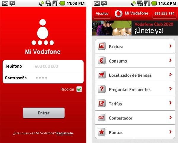 Mi Vodafone, conoce el estado de tu factura, ofertas, puntos y más con esta aplicación