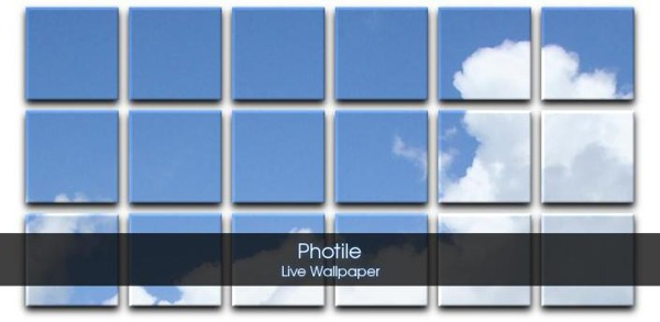 Photile Live Wallpaper, personaliza el escritorio de tu móvil Android con esta aplicación