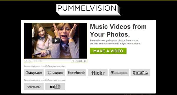 Pummelvision, crea videos con tus imágenes de Instagram de forma rápida y gratuita