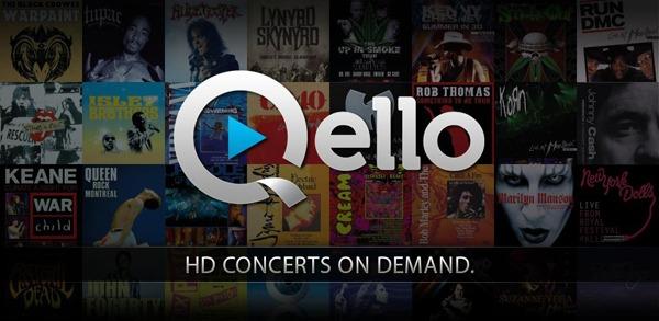 QELLO for Tablet, disfruta de conciertos en alta definición en tu tableta Android