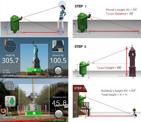Smart Measure Lite, mide distancias y alturas sólo con tu móvil Android