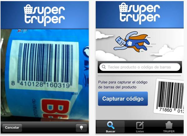 Supertruper, haz la lista de la compra y ahorra con esta aplicación para iPhone