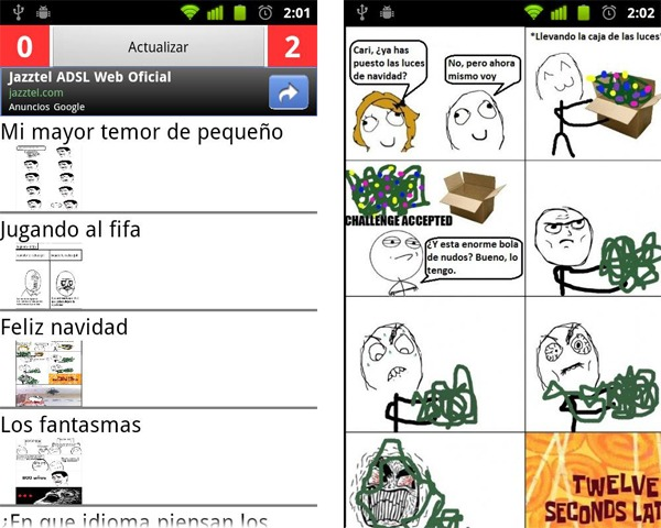 CC memes, las viñetas de Cuánto Cabrón en tu móvil Android 2
