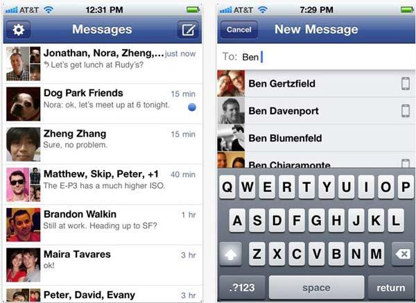 Envía mensajes instantáneos con Facebook Messenger