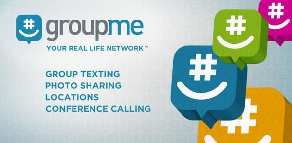 GroupMe, crea grupos de conversación con tus amigos