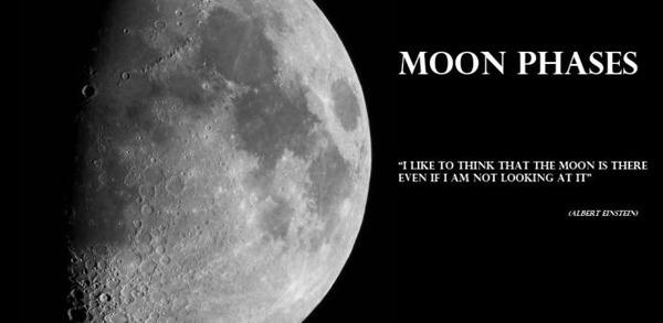 Moon phases, conoce la fase de la Luna con esta aplicación