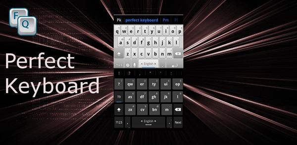 Perfect Keyboard Free, cambia el teclado de tu móvil Android