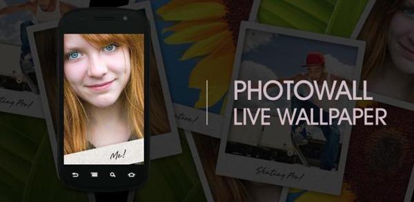 PhotoWall Live Wallpaper, un fondo animado para tu Android