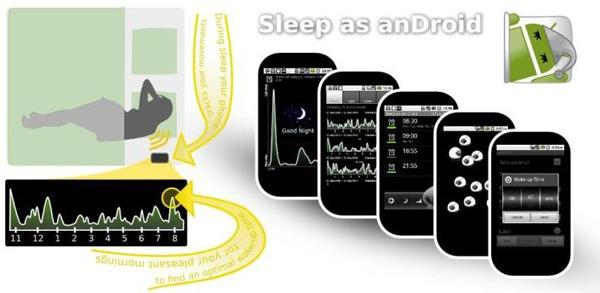 Sleep as an Droid, lleva el control del sueño con tu Android