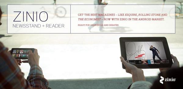 Zinio Revista Reader, lee tus revistas favoritas dónde y cuándo quieras en tu móvil o tableta