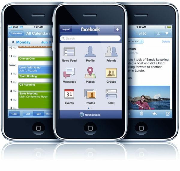 Facebook 3.5, la aplicación para iPhone se actualiza