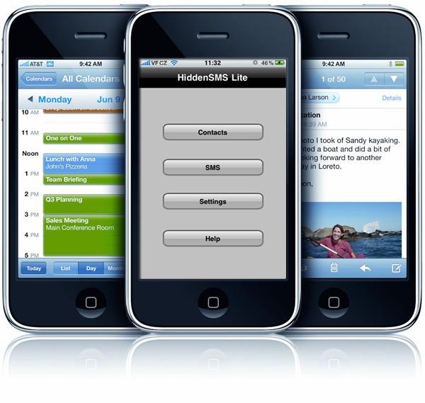 HiddenSMS Trial, oculta tus mensajes y llamadas con esta app