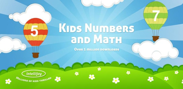 Kids Numbers and Math Lite, enseña matemáticas con Android