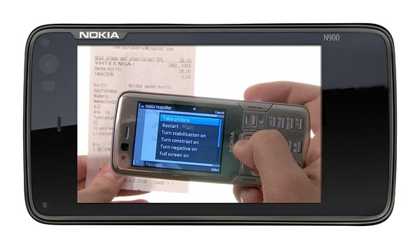 Nokia Magnifier, transforma tu móvil Nokia en una lupa