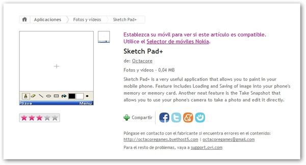 Sketch Pad+, dibuja todo lo que quieras en tu Nokia 2