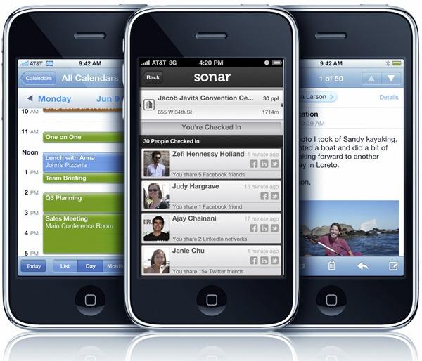 Sonar, encuentra nuevos amigos con esta app para iPhone