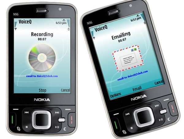 VoiceQ, graba notas de voz en tu Nokia y envíalas por correo
