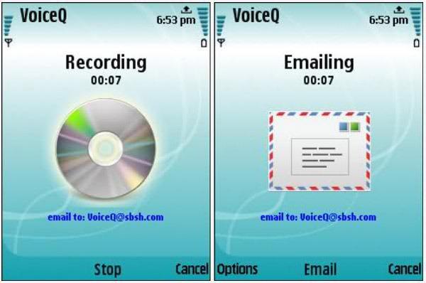 VoiceQ, graba notas de voz en tu Nokia y envíalas por correo 2