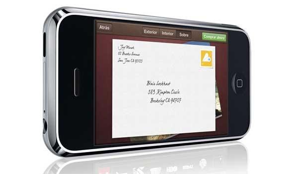 Cards, crea y envía postales impresas desde tu iPhone