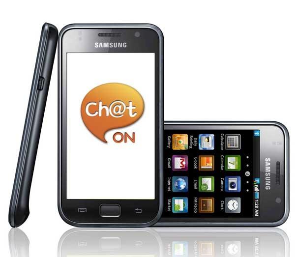 ChatON, mensajería instantánea entre móviles Samsung