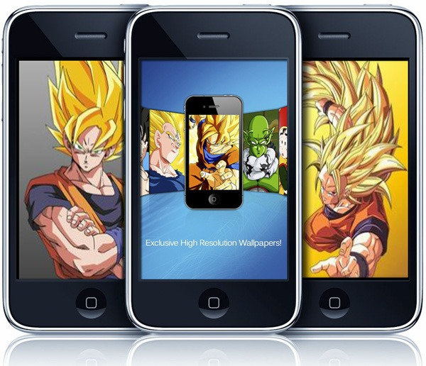 Dragon Ball Wallpapers, fondos de pantalla para iPhone