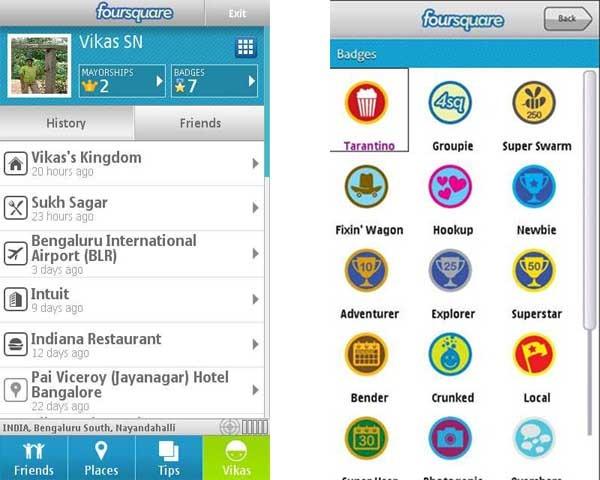 Foursquare for Symbian, descubre tu entorno desde Nokia 2