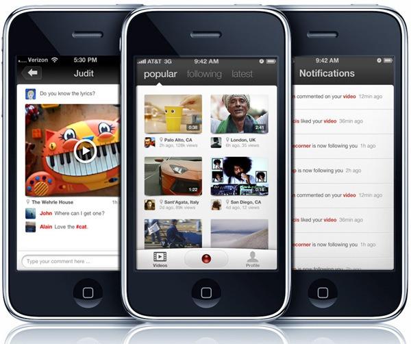 Klip, un portal de vídeos exclusivo para iPhone y iPad
