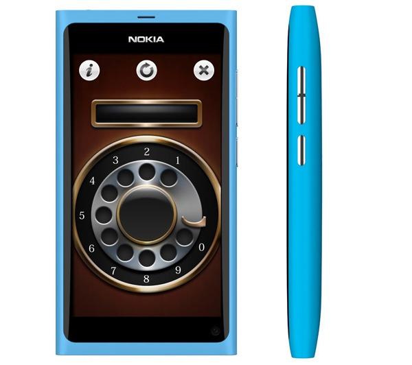 Rotary Dialer Touch, un marcador clásico para móviles Nokia