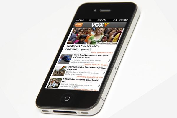 Voxy Inglés, aprende inglés cómodamente con tu iPhone