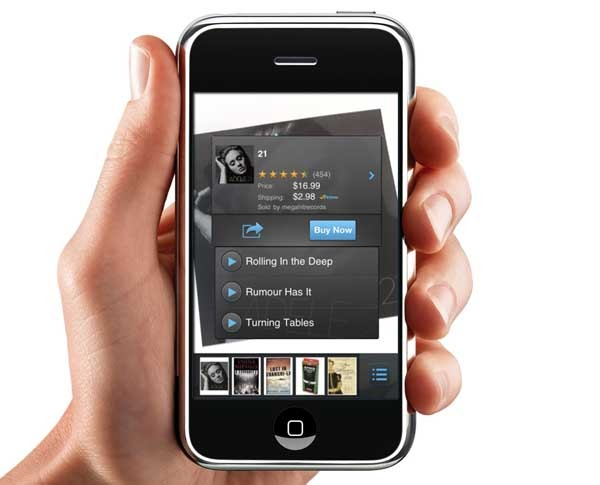 Flow Powered by Amazon, un escáner de productos para iPhone