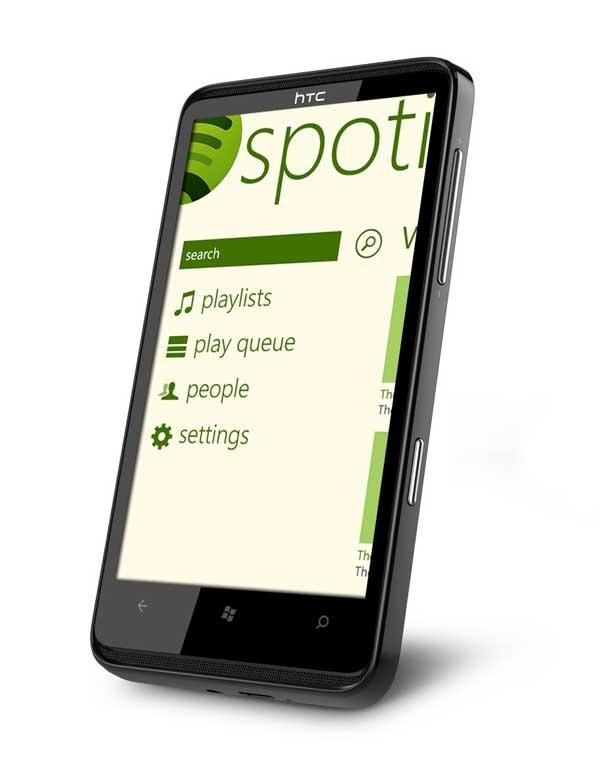 Spotify, la aplicación de música ahora en Windows Phone 7